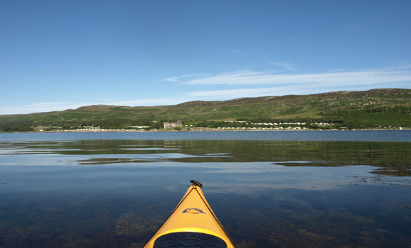View of Site from Loch