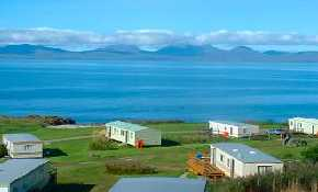 View of Mobile Homes