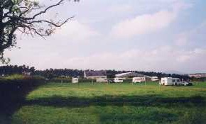View of main touring field