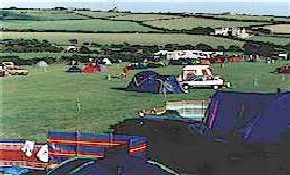 Main spacious camping field