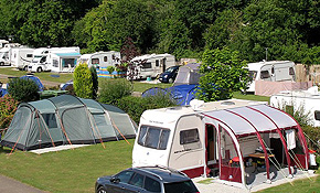 Main touring and camping area