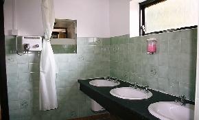 Inside toilets