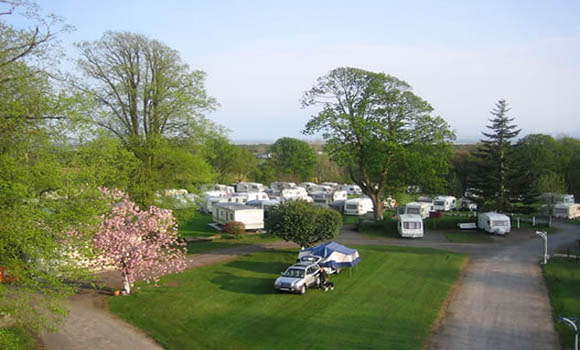 King robert the bruce 39 s cave caravan and camping site - Swimming pools in dumfries and galloway ...