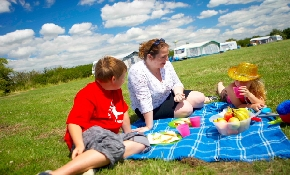 Picnic on the touring field