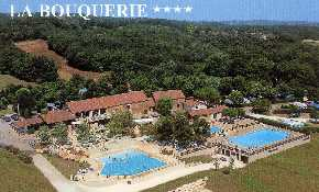Aerial view of site pool