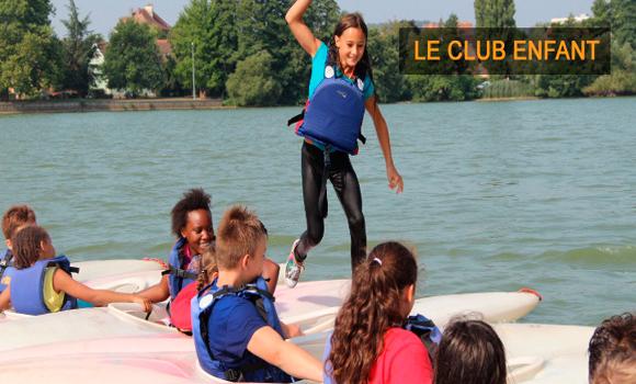 Kids fun on the water
