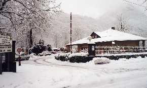 Site in winter