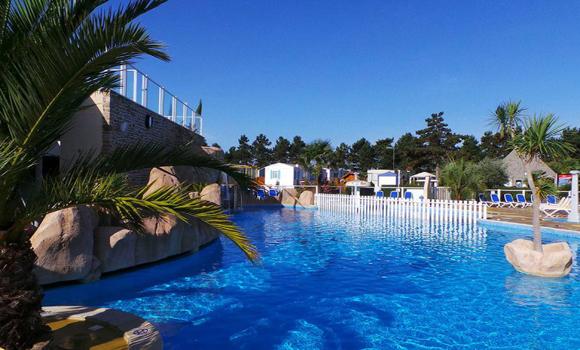Caravan camping sites in normandie basse normandie haute - Camping sites uk with swimming pools ...