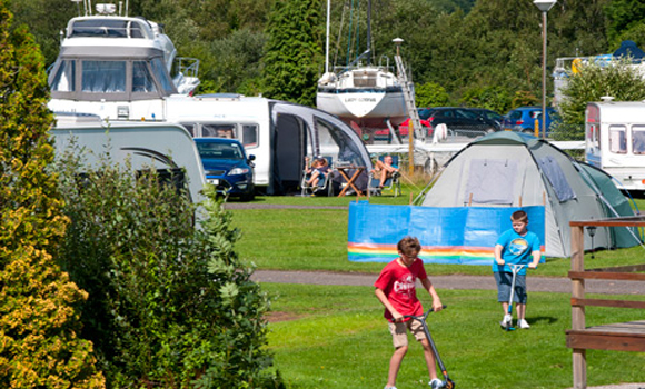 Touring and camping field
