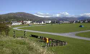 Children's play equipment and main camping field