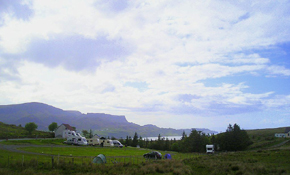 Site and coast behind