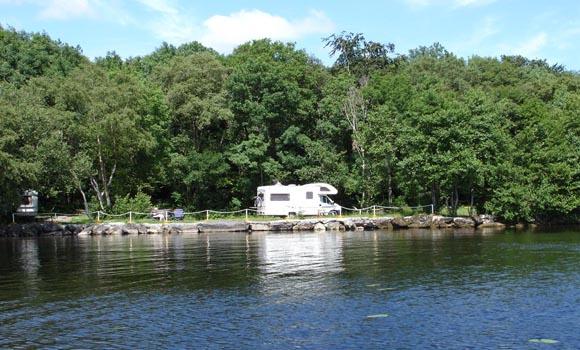 Great spot beside the lake