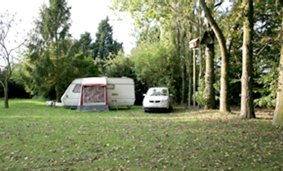 Grass touring pitches
