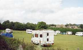 Motorhome on site