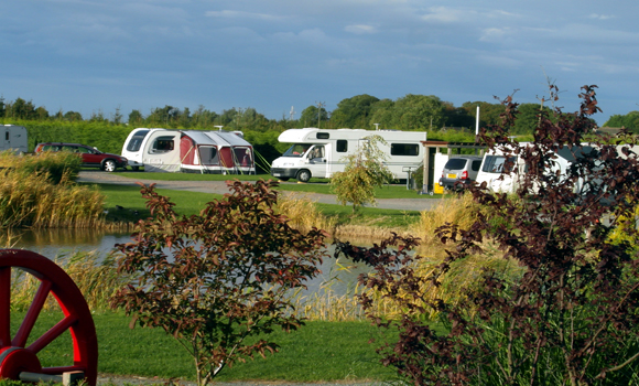 Touring and motorhome pitches