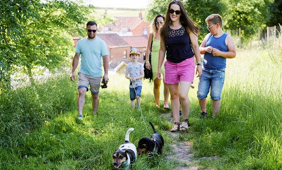 Family fun walks