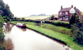 The Anchor Inn and Shropshire Canal